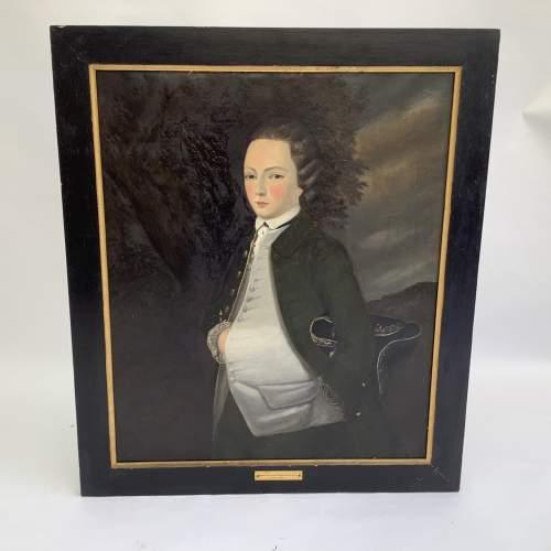 18th Century Portrait of Isaac William Webb Horlock image-1