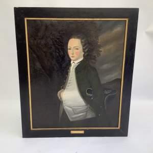 18th Century Portrait of Isaac William Webb Horlock