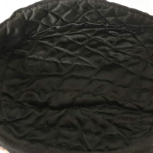 Victorian Smoking Hat Embroidered on Felted Wool image-3