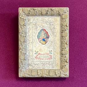 18th Century Devotional Valentine to St Elisabeth of Thuringia