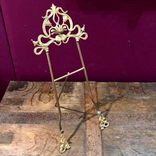 French Art Nouveau Bookstand image-1