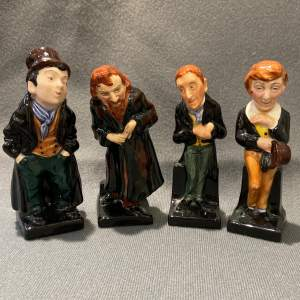 Royal Doulton Set Of Four Charles Dickens Figures