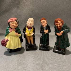 Royal Doulton Set Of Four Dickens Figures