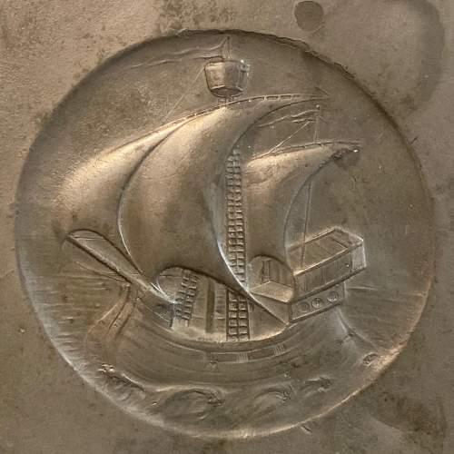 Kayserzinn Art Nouveau Pewter Serving Tray image-2