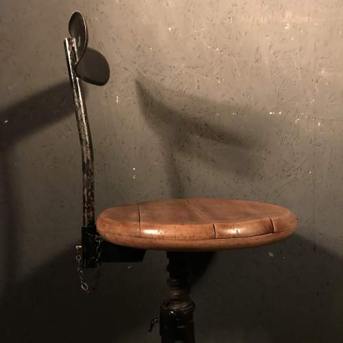 Lovely Singer Machinists Chair image-3