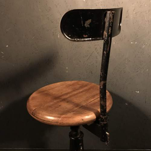 Lovely Singer Machinists Chair image-5