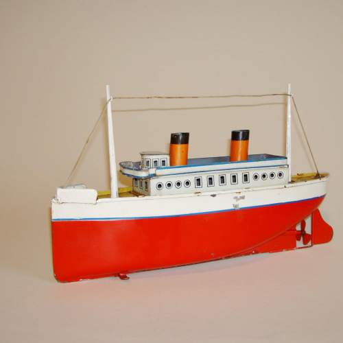 Clockwork Tinplate Ocean Liner by Bing image-3