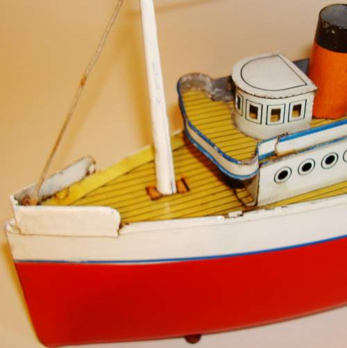 Clockwork Tinplate Ocean Liner by Bing image-4