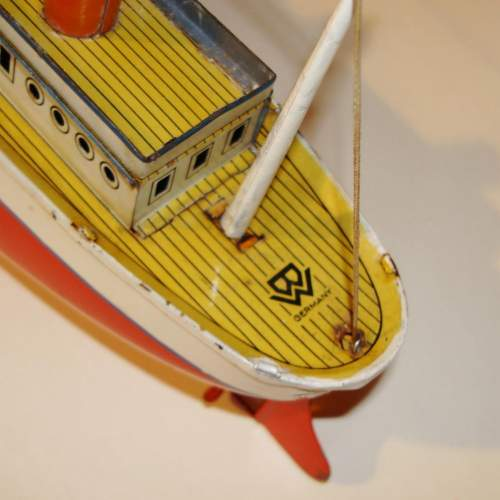 Clockwork Tinplate Ocean Liner by Bing image-5