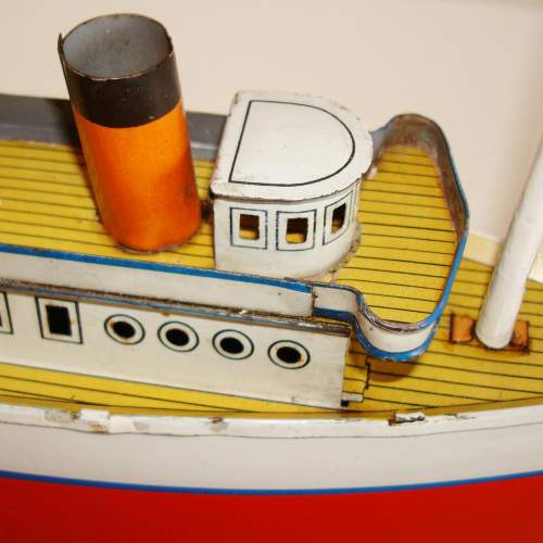 Clockwork Tinplate Ocean Liner by Bing image-6