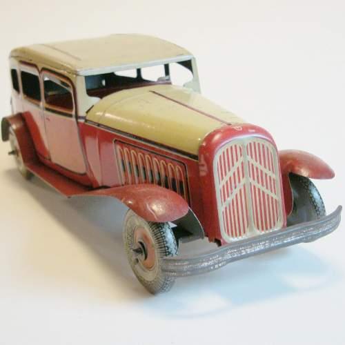 1930s Tinplate Sedan Car image-1