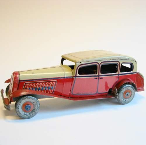 1930s Tinplate Sedan Car image-2