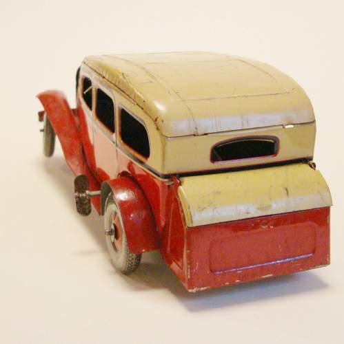 1930s Tinplate Sedan Car image-3