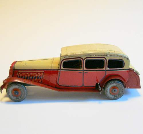 1930s Tinplate Sedan Car image-4