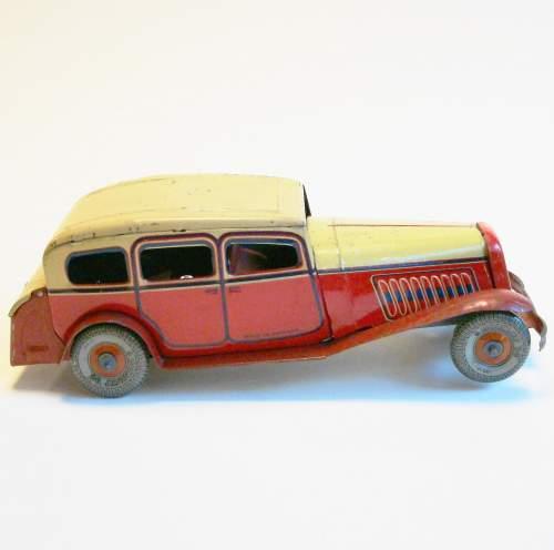 1930s Tinplate Sedan Car image-5