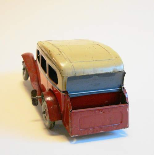 1930s Tinplate Sedan Car image-6