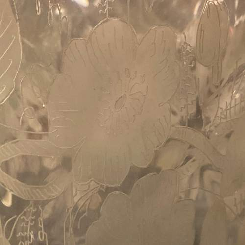 Victorian Glass Lamp Shade image-4