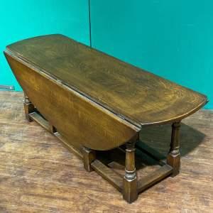 Vintage Ipswich Oak Drop Leaf Coffee Table
