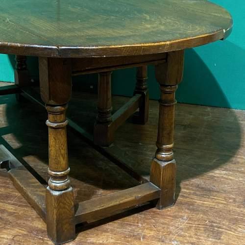 Vintage Ipswich Oak Drop Leaf Coffee Table image-3