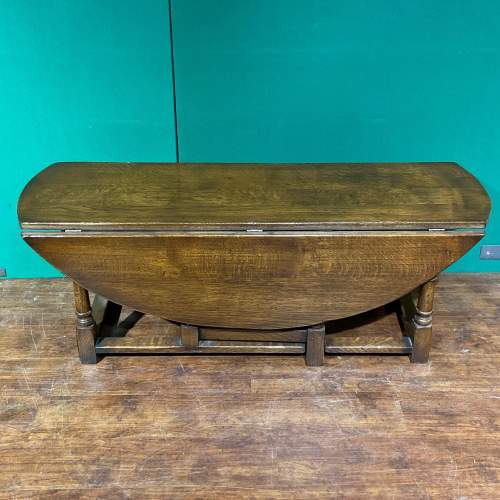 Vintage Ipswich Oak Drop Leaf Coffee Table image-4