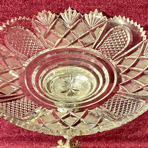 Late Victorian Silver Plated Table Centre Piece image-2