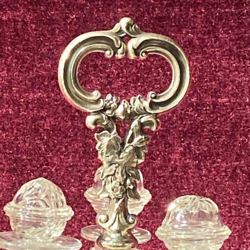 Silver Plated Mid 19th Century Bottle Stand image-2