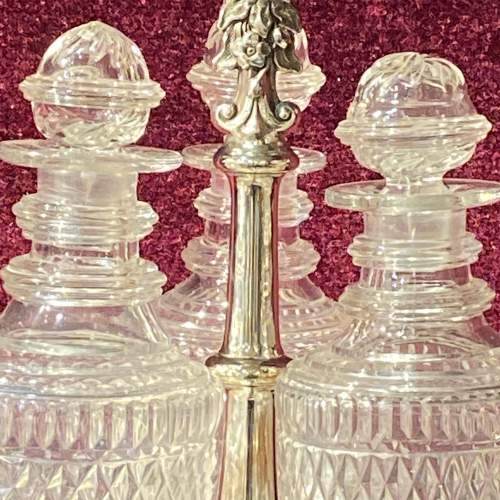 Silver Plated Mid 19th Century Bottle Stand image-3