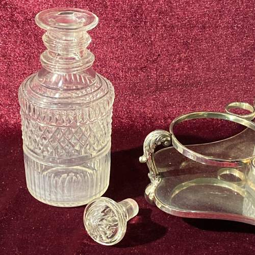 Silver Plated Mid 19th Century Bottle Stand image-5