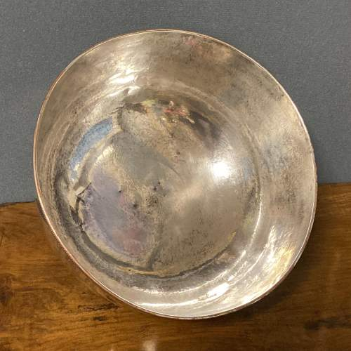 Victorian Round Silver Plate on Copper Meat Dome image-4