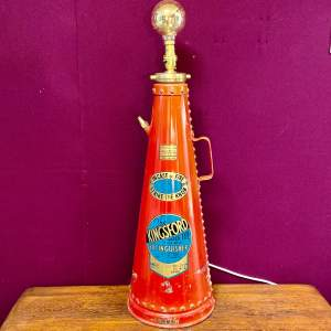 1965 Kingsford Fire Extinguisher Light