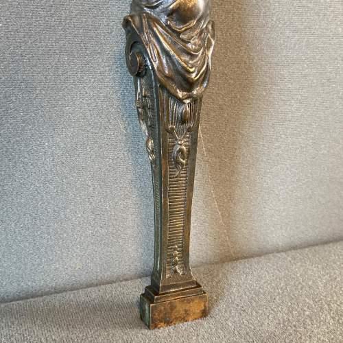 Art Nouveau Bronze Lady Figure image-2