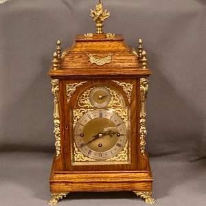 Winterhalder and Hofmeier 8-Day Triple Fusee Bracket Clock