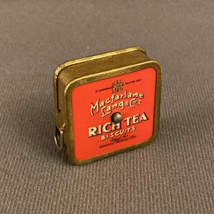 Vintage 1930s Macfarlane Rich Tea and Granola Digestives Tape