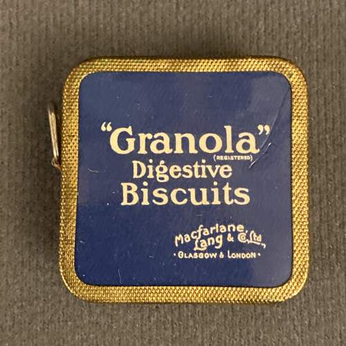 Vintage 1930s Macfarlane Rich Tea and Granola Digestives Tape image-3