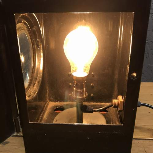 Adlake Non Sweating Rail Lamp Converted to Electric image-5
