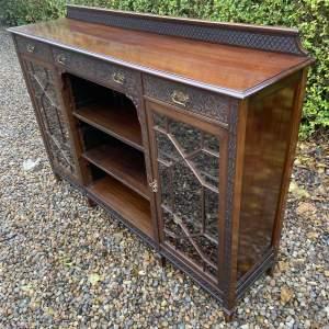 Good Quality Edwardian Mahogany Bookcase