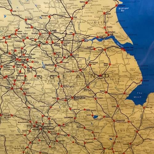 1968 Red Star British Rail Full System Poster image-3