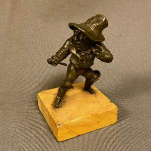 19th Century Bronze of a Hunchback