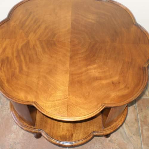 1920s Mahogany Revolving Bookcase - Coffee Table image-4