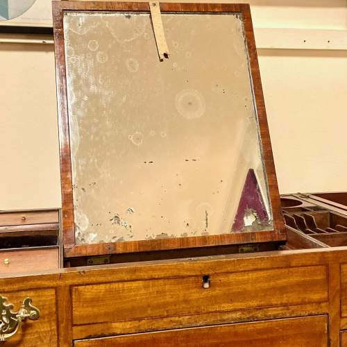 Regency Period Mahogany Dressing Table Cabinet image-4