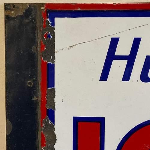 Huile Igol Enamel Sign image-3