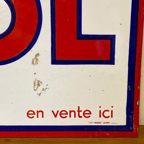 Huile Igol Enamel Sign image-2