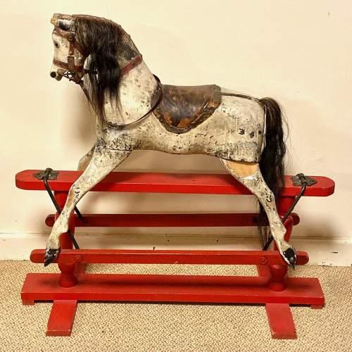 Antique 19th Century Rocking Horse image-1