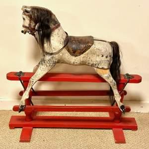 Antique 19th Century Rocking Horse