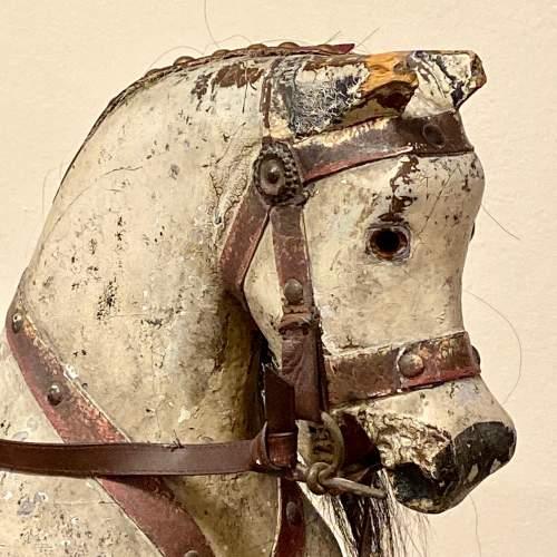 Antique 19th Century Rocking Horse image-4