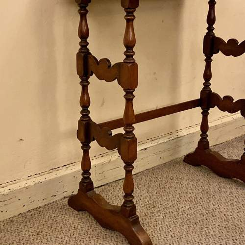 Early 20th Century Walnut Nest of Tables image-4