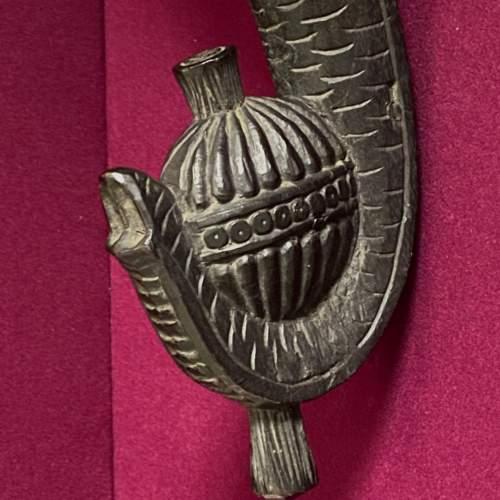 Carved Burmese Teak Elephants Head image-3