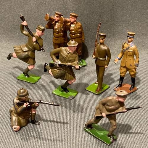 Britains Pre War Lead Soldiers image-1