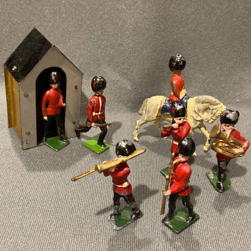 Pre War Britains Lead Soldiers of The Queens Guards image-1