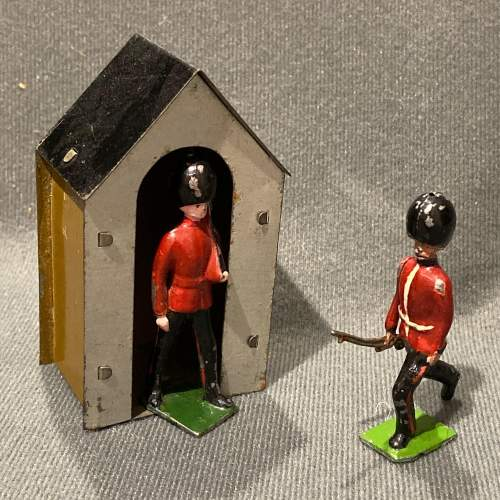 Pre War Britains Lead Soldiers of The Queens Guards image-2